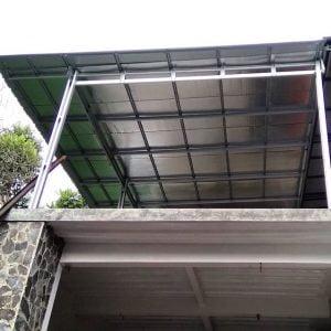 atap baja ringan untuk garasi