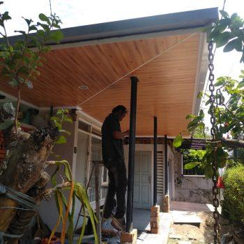 kanopi baja ringan plafon pvc